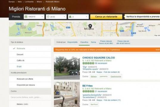 """Tripadvisor: il ristorante """"numero 1 di Milano"""" è un chiosco di panini"""